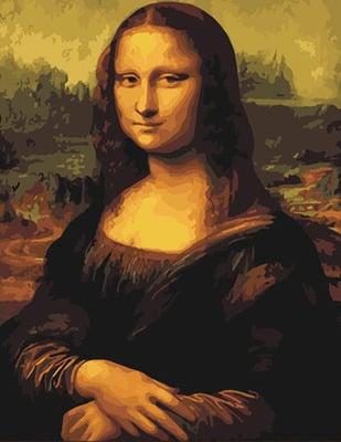 Malowanie po numerach – Mona Lisa