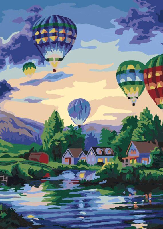 Malowanie po numerach – Festiwal balonów